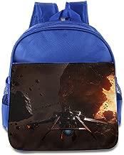 MoMo Unisex Star Citizen Poster Boy Girl School Backpack For Little Kids