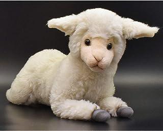 "Hansa Little Lamb Sheep Plush Animal Toy, Approximately 18"""