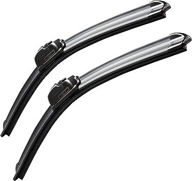 "MOTIUM OEM QUALITY 26"" + 21"" Premium All-Season Windshield Wiper Blades (set of 2): image"