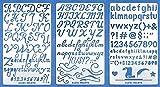Aleks Melnyk #34 Plantillas Stencils de Metal para...