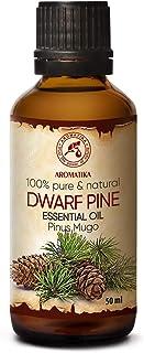 Huile Essentielle de Pin de Montagne 50ml - Pinus Mugo - Aromathérapie - Arômes Maison - Arôme Conifère - Huile de Pin Pur...