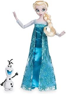 Disney Elsa Classic Doll with Olaf Figure - 11 1/2 Inch