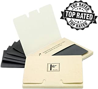 2 Pack of Pretie Asian Bamboo Charcoal Extra Thick Super Absorbent Facial Blotting Paper/Oil Absorbing Sheets (160 sheets in total). Pop-up Inter-folded sheets.