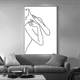 صورجسمامراهرسمプリントキャンバス寝室壁画リビングルームバスルーム壁画家の装飾絵画
