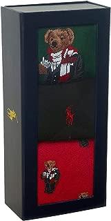 Polo Ralph Lauren Men's Dress Socks - GIFT BOX SET - 3-Pair