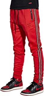 Cha$e Clothing Athletic Track Pants with Drawstrings