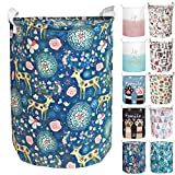 Aouker Merdes 19.7'' Waterproof Foldable Laundry Hamper, Dirty...