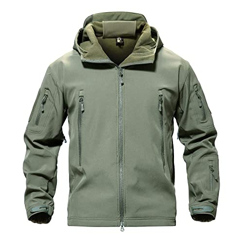 71a3a891ce0 MAGCOMSEN Men s Tactical Army Outdoor Coat Camouflage Softshell Jacket  Hunting Jacket