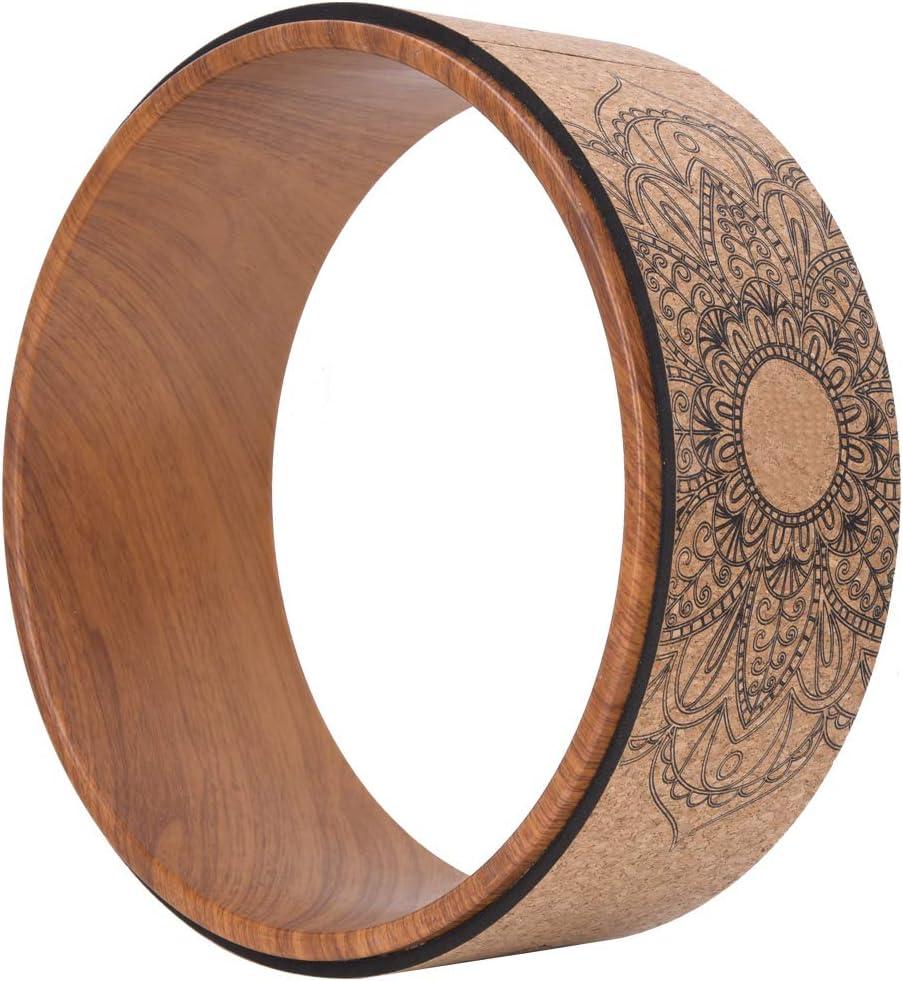 Okuyonic Circles Resilient Professional Wheel Yoga Choice Bodybuild for Max 59% OFF