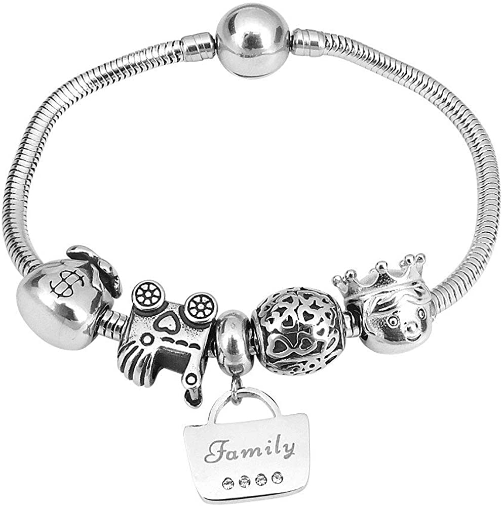 Ladies Bracelet Lucky 55% OFF Bag Fun For Girl Gif Max 60% OFF Charms Women