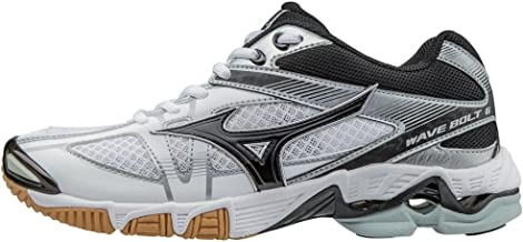 Mizuno Women's Wave Bolt 6 Volleyball Shoes - White & Black