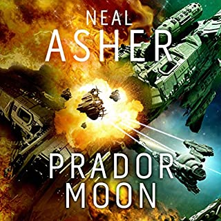 Prador Moon                   By:                                                                                                                                 Neal Asher                               Narrated by:                                                                                                                                 Ric Jerrom                      Length: 9 hrs     53 ratings     Overall 4.3