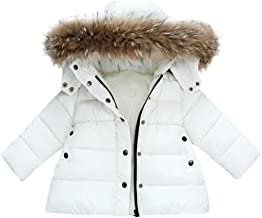 FORESTIME Fashion Kids Baby Girls Warm Faux Fur Feather/ Vest Waistcoat Thicken Coat Winter Fall Jacket Outwear