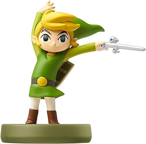 Amiibo Toon Link (The Wind Waker) - Legend of Zelda series Ver. [Wii U] import japon