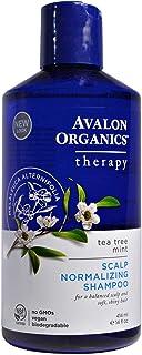 أفالون اورجانيكس، شامبو تسوية فروة الراس، علاج شجرة الشاي بالنعناع، 14 اونصة سائلة (414 ملم)