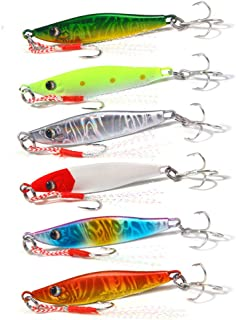 DOITPE 6PCS Fishing Lures 2.56