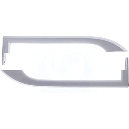 242059301 Frigidaire Refrigerator Door Handle; D2-2