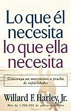 Lo Que El Necesita, Lo Que Ella Necesita/ His Needs, Her Needs: Construye un matrimonio a prueba de infidelidades/ Buildin...