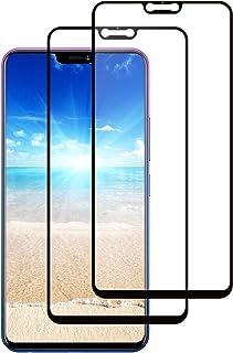 LPCJ. Kompatibel med VIVO Z3X/Y89 skärmskydd, härdat glas, [2-pack], 9H hårdhet, kristallklarhet, repbeständig, skärmfilm ...