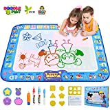 Best Gifts For 1 Year Old Girls Waters - GTurtle Water Drawing Mat Doodle Mat Educational Learning Review