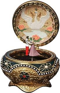 The San Francisco Music Box Company Anastasia - Alexandra & Nicholas Hinged Trinket Box