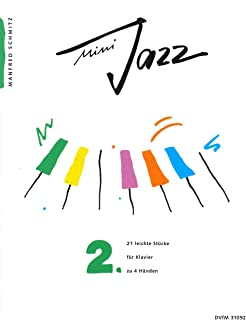 Mini Jazz, Book 2 - 21 Easy Pieces for Piano duet (4 hands) - (DV 31092)