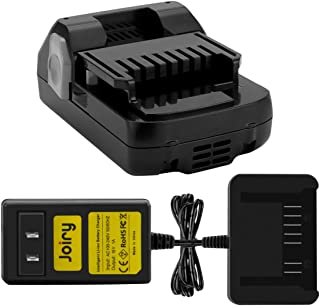 Joiry 18V 3A Lithium Ion Battery and Charger for Hitachi 330139 330557 339782 BSL1815X BSL1815S BSL1830C Slide-on Style Batteries