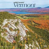 Vermont Wild & Scenic 2022 12 x 12 Inch Monthly Square Wall Calendar, USA United States of America Northeast State Nature