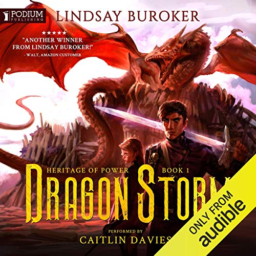 Dragon Storm cover art