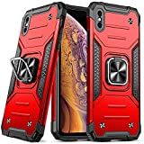 DASFOND Hülle Kameraschutz Kompatibel Mit iPhone XS Max