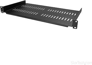 "Startech 1U Rack Shelf - 10"" Deep - Steel - Vented Rack Shelf - Rack Mount Shelf - Server Rack Shelf - Cantilever Shelf Co..."