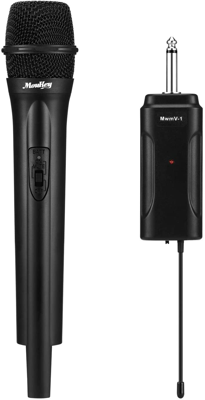 Moukey Max 88% OFF Wireless Microphone Dynamic Handheld Cor Mic VHF Singing Special Campaign