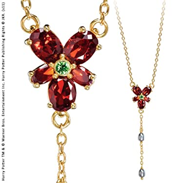 Noble Collection - Harry Potter Replica 1/1 Hermione's Red Crystal Necklace