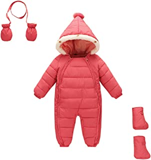 3 Piece Baby Toddler All in One Snowsuit Romper Winter