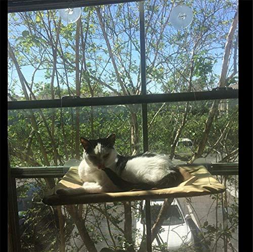 XXYMCB Percha para Gatos Colchoneta Cama Mascotas Lindas Camas suspendidas Cama para Gatos Asiento Blando y Soleado Asiento Ventana Mascota Gato Hamaca Cómoda Gato Cama para Descanso para Mascotas