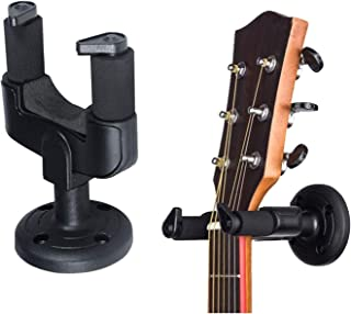 Guitar Hanger and Wall Mount Bracket Holder for Acoustic and Electric Guitars