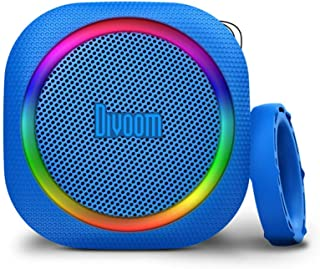 Divoom Airbeat 30 Bluetooth Speaker With Led Ring Lighting - Blue (Pack Of1)