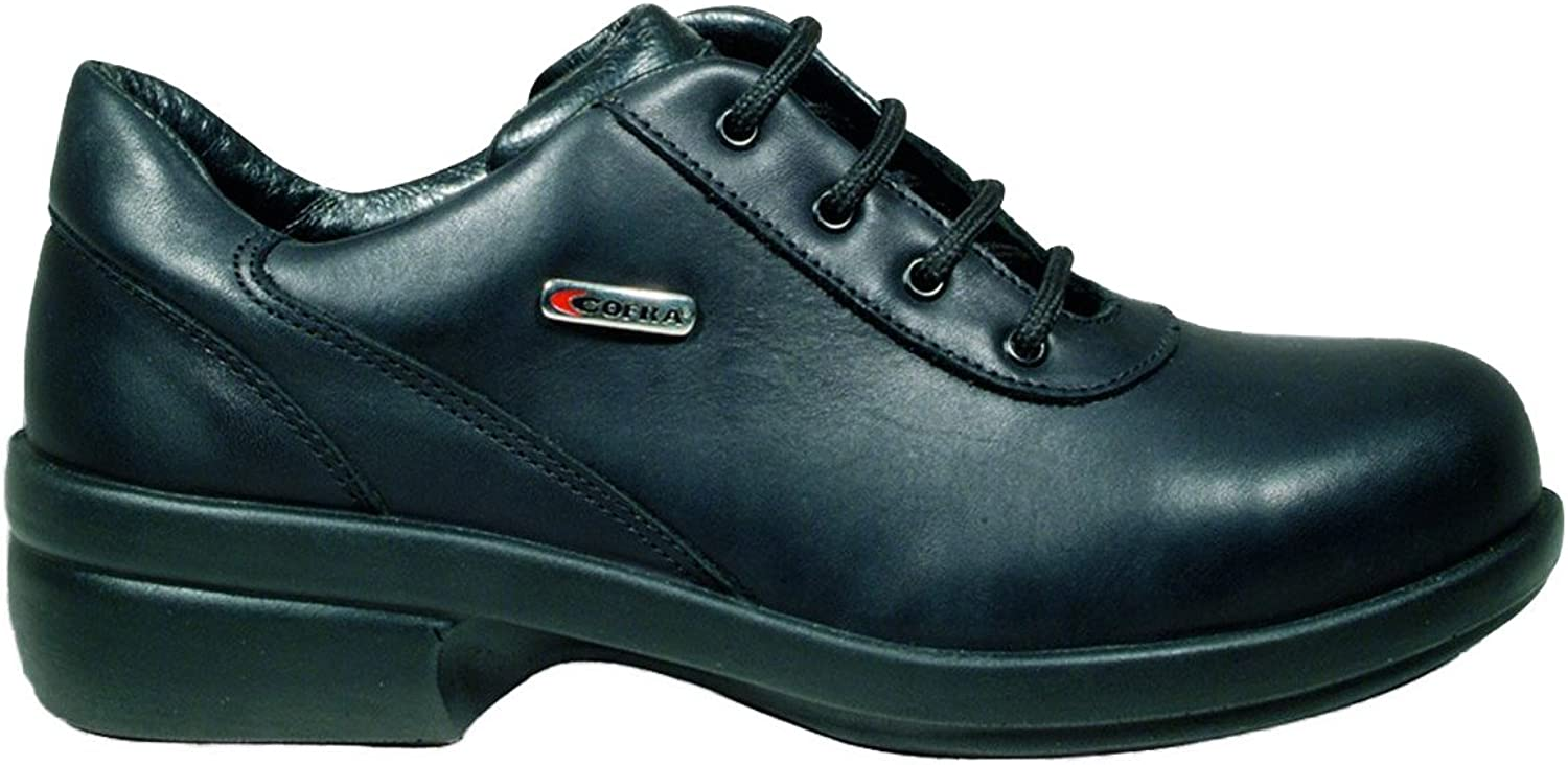 Cofra 84470-000.D42 Safety shoes Julia S2 Size 42 in Black