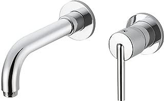 Delta Faucet T3559LF-WL Trinsic Single Handle Wall Mount Bathroom Faucet Trim, Chrome