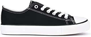 Fashion Women's Canvas Low Top Sneaker Lace-up Slip On...