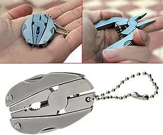 Pince /à Bec de Nez 6in Tu-616 Mini Pince /à Bec de Nez en Acier /à Haute Teneur en Carbone avec Manche en Plastique