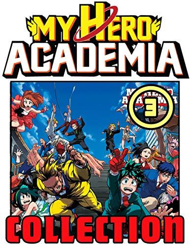 My Hero Academia Collection: Vol 3 - Great Shonen Action Manga For Teens , Adults, Fan, Boys, Girls (English Edition)