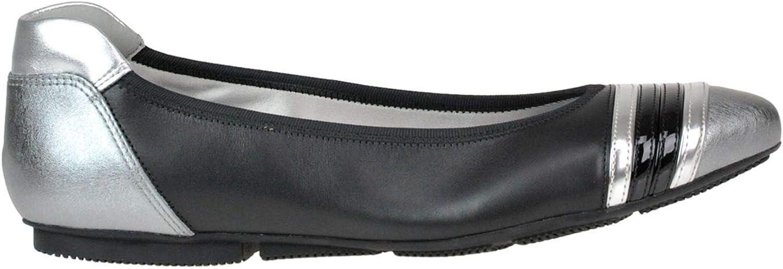 Hogan Kvinnliga Kvinnliga Kvinnliga MCGLCAB0005136E svart läder Flats  högkvalitativ äkta