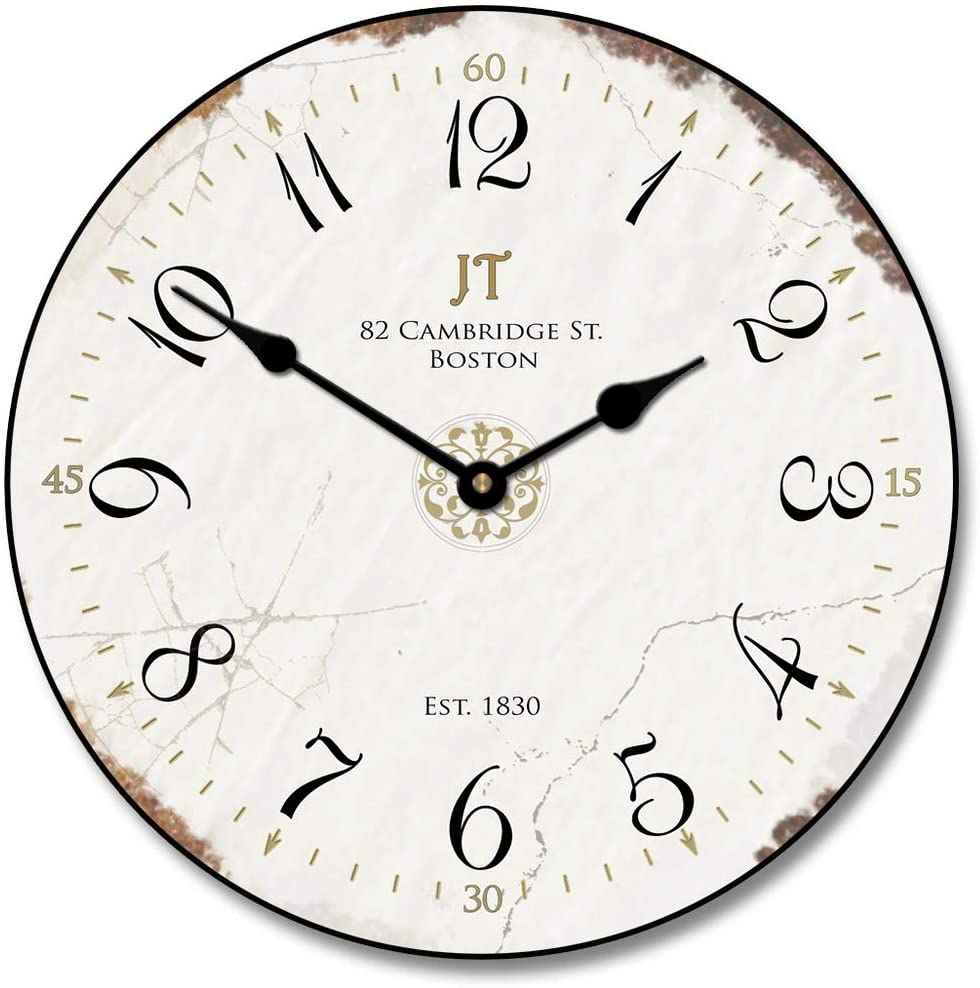 5 popular Vintage White Wall Clock Available Ship Most Ultra-Cheap Deals 8 in Sizes