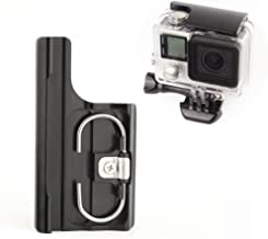 SOONSUN Aluminum Replacement Latch Rear Snap Lock Buckle for GoPro Hero 4 Hero 3+ Hero4 Camera Standard Waterproof Skeleton Housing (Black)