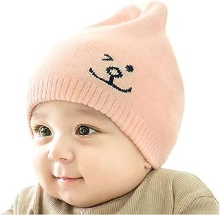 Fighting to Achieve Winter New Korean Style Unisex Beanie Cute Rabbit Ears Warm Cap Hat for Baby Kids