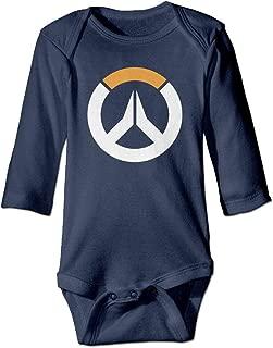 Unisex Overwatch Sombra ARG Logo Hero Cool Baby Onesie Bodysuit