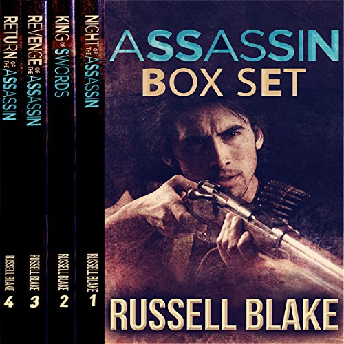 Assassin Series, Four Novel Bundle audiobook cover art