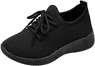 Lurryly Children Infant Kids Baby Girls Boys Solid Sport Running Sneakers Casual Shoes