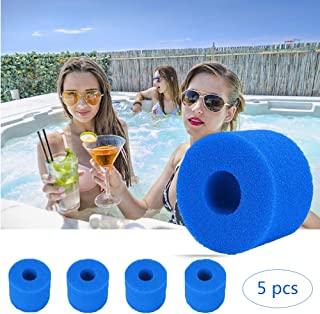 Swimming Pool Filter Foam Reusable Washable for Intex H Type Filter Sponge Reusable/Washable Swimming Pool Filter Foam Car...